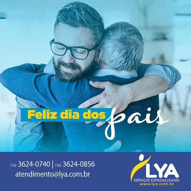 Uma homenagem da Lya para todos os papais