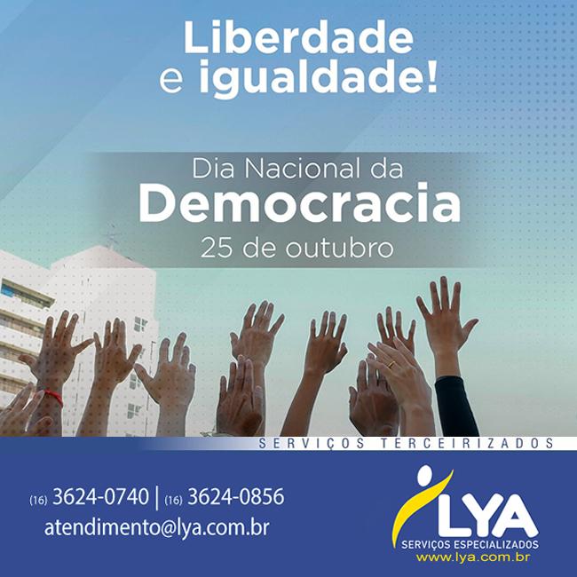 25 de Outubro, Dia da Democracia