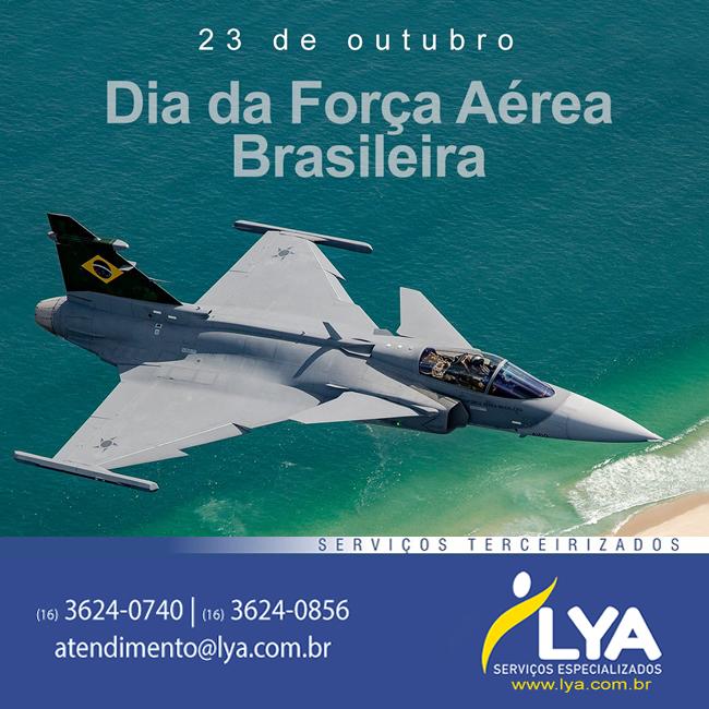 DIA DA FORÇA AÉREA BRASILEIRA E DO AVIADOR